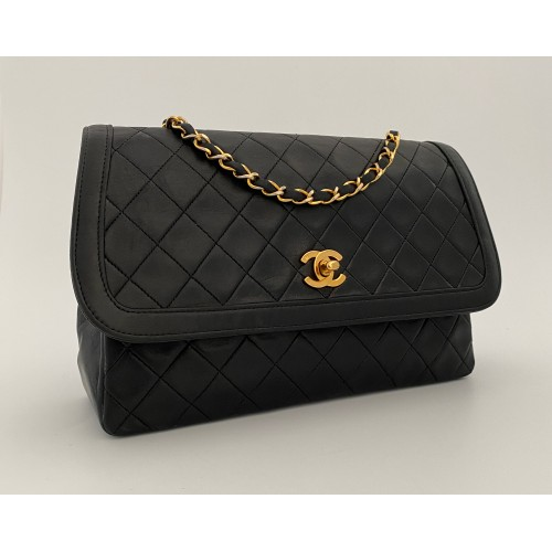 Chanel black vintage with...