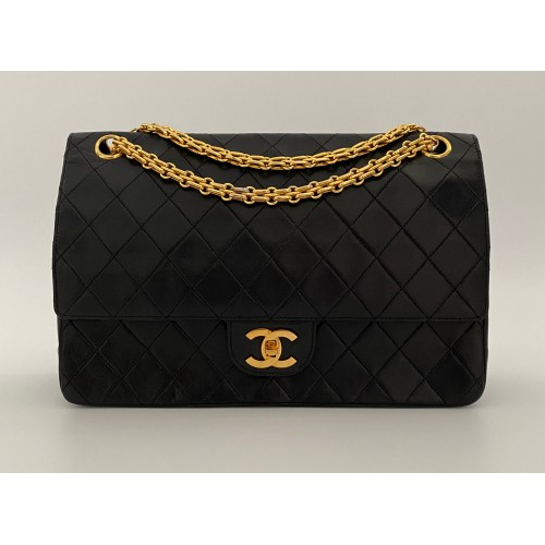 Chanel double flap bag...