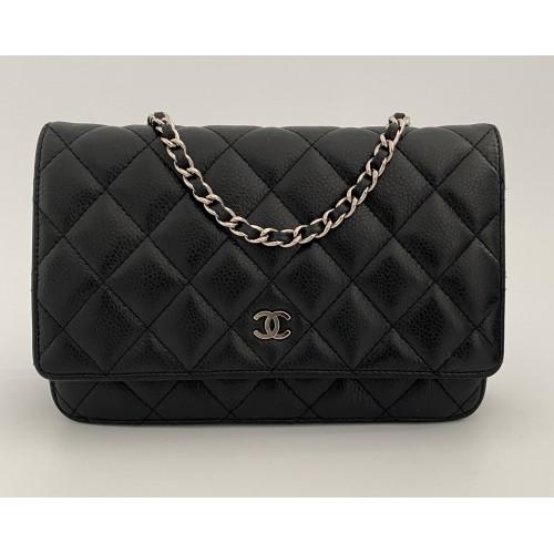 Chanel WOC caviar black...