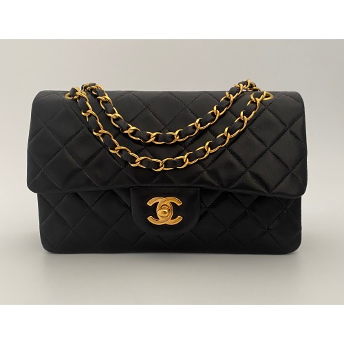 Chanel Timeless 23 double flap bag...