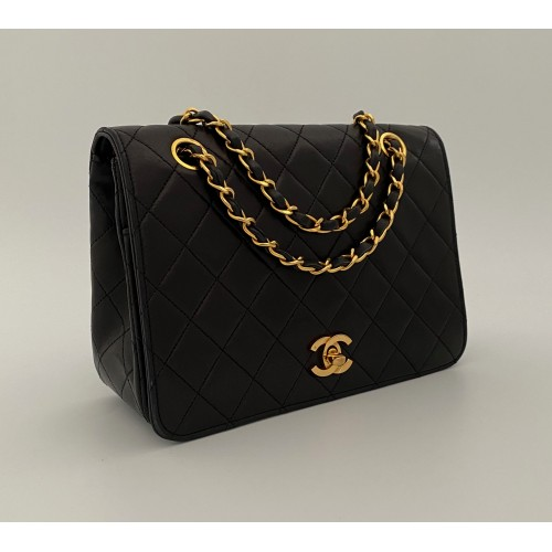 Chanel matelasse black...