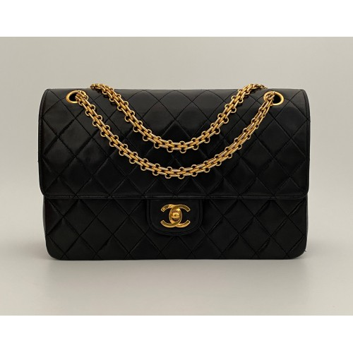 Chanel double flap bag...