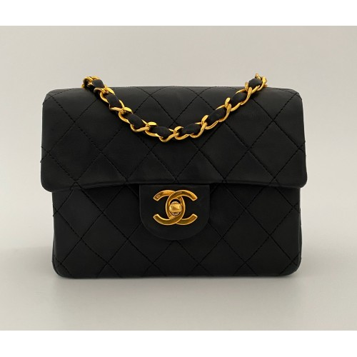 Chanel Timeless mini black vintage